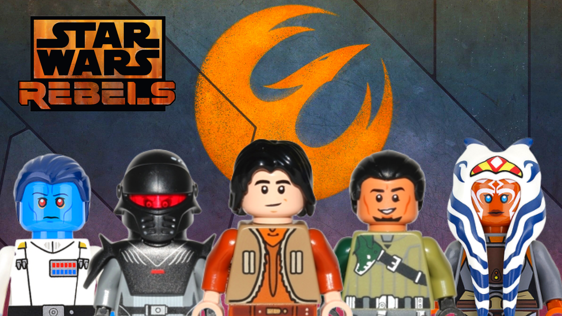 Rebels All Lego Star Wars Minifigures From