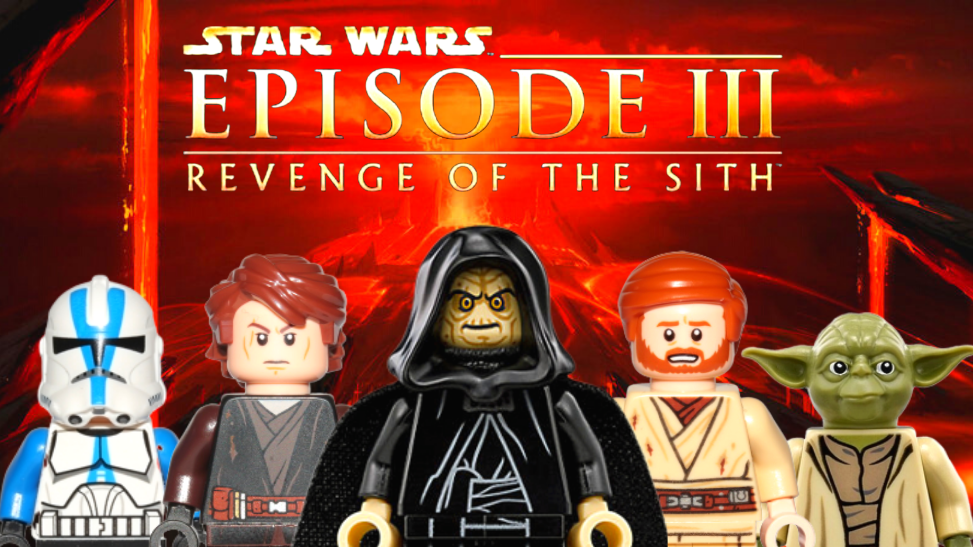 Revenge Of The Sith All Lego Star Wars Minifigures From Episode 3