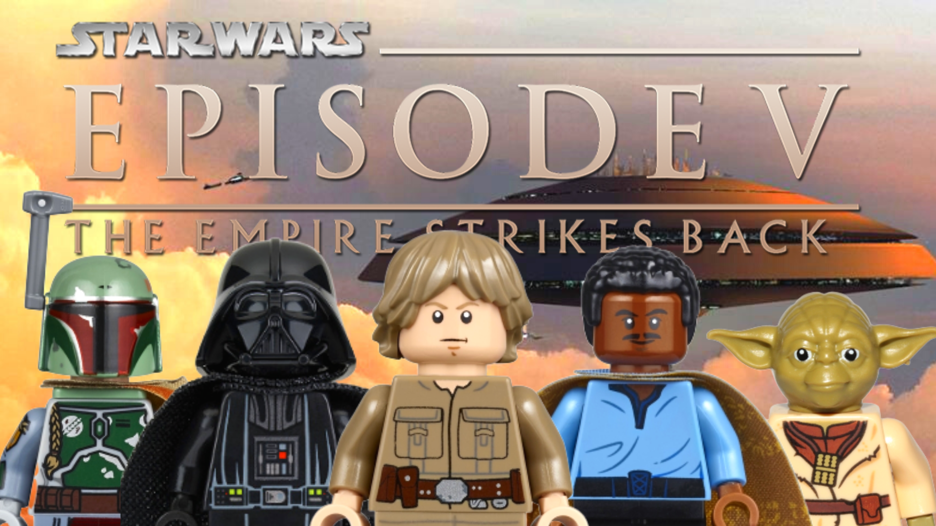 The Empire Strikes Back All Lego Star Wars Minifigures From Episode 5