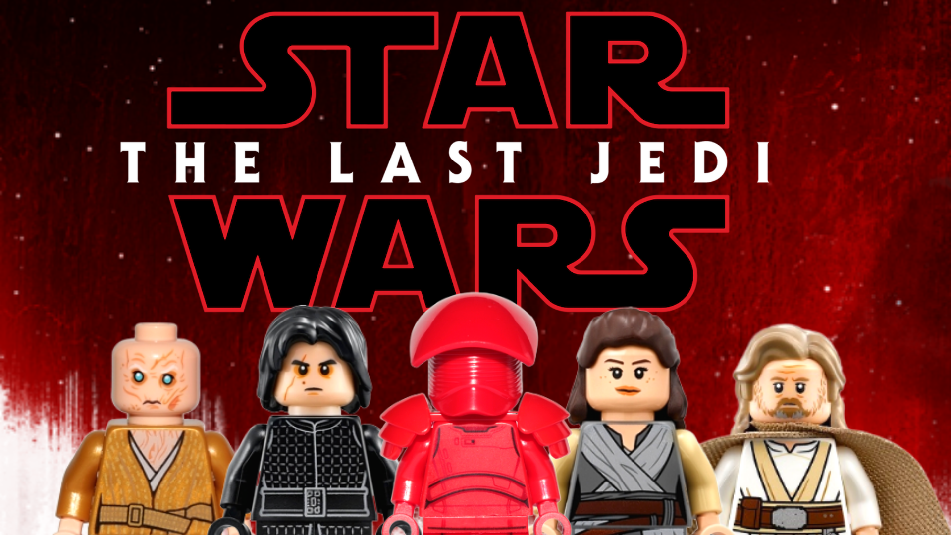 The Last Jedi All Lego Star Wars Minifigures From Episode 8