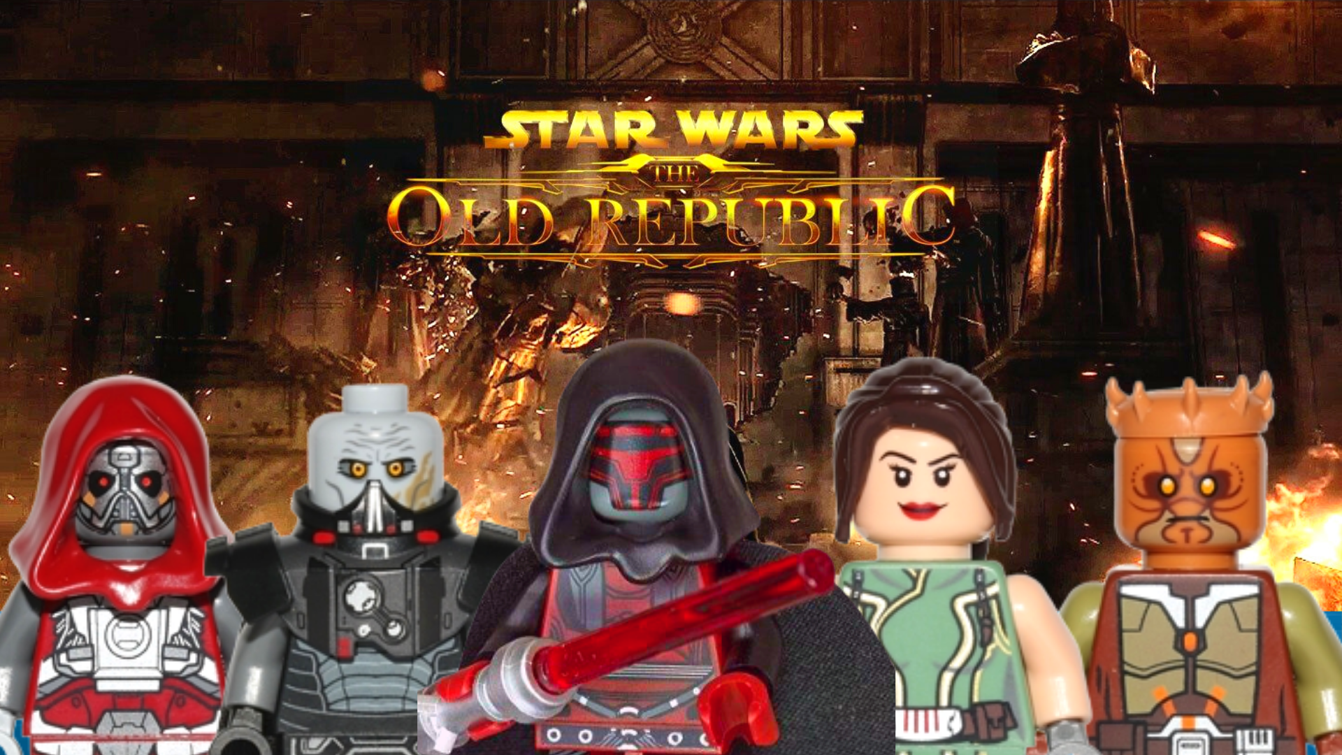 The Old Republic All Lego Star Wars Minifigures From