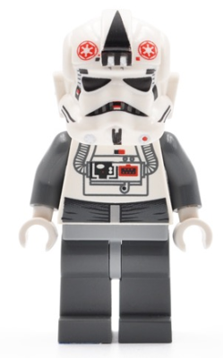 8129 Star Wars NEW sw262 Lego AT-AT Driver Minifigure from sets 8084