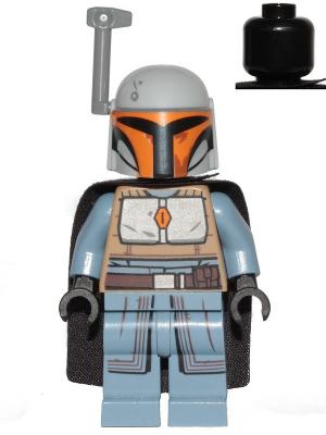 Lego ® Star WarsFigure Mandalorian Version Blue-Grey from set 75267New